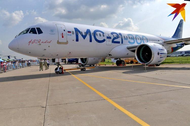 Серийный выпуск нового российского пассажирского самолета МС-21 должен начаться в 2021 году