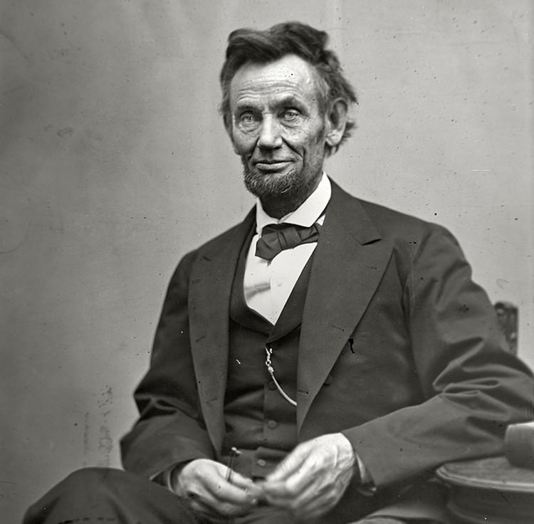 16-й президент США Авраам Линкольн стал настоящим воплощением «американской мечты»