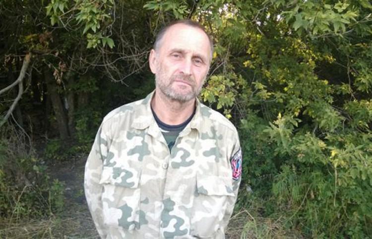 Сергей Егоров, гражданин России. Воевал в Донбассе добровольцем