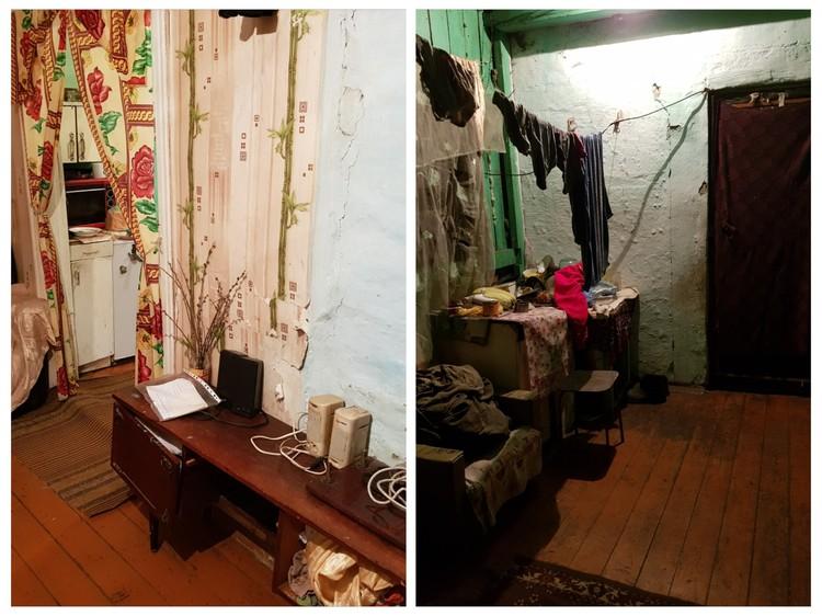 Все произошло в этом доме. Фото: СУ СК России по Омской области