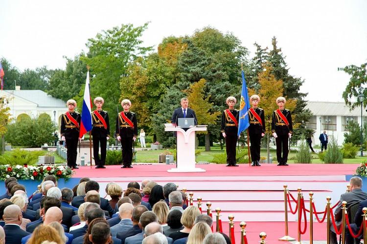 Бабушкин первым делом избавился от коррумпированных местных элит. Фото: администрация Волгоградской области