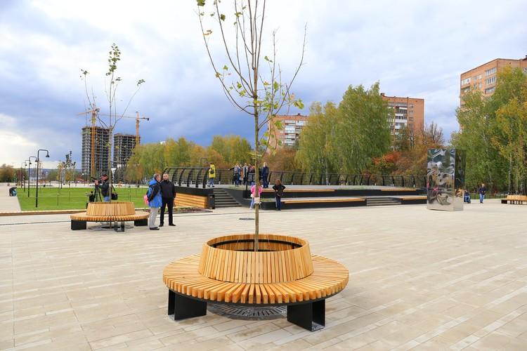 Новая Центральная площадь. Фото: Амир Закиров