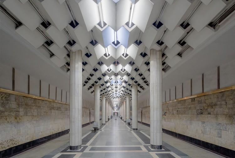 Станция «Улдуз» в Баку. Открыта в 1970 году. Фото: Christopher Herwig/FUEL