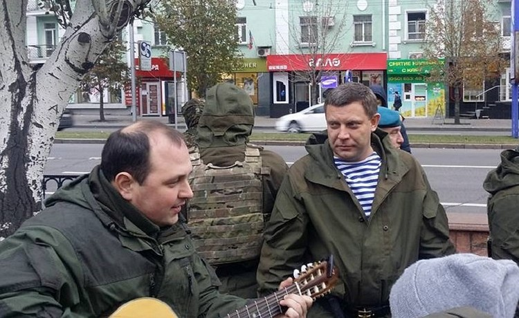 Новый сити-менеджер Элисты был лично дружен с погибшим главой ДНР Александром Захарченко. Фото: o-dnr.livejournal.com