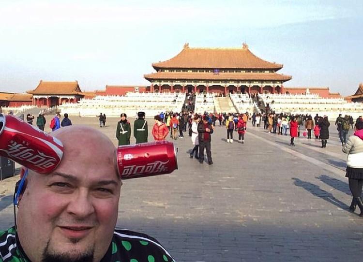 """На """"гастролях"""" в Китае."""