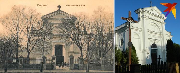 В костеле, где служил будущий кардинал Свёнтак, в советское время был ДК. Фото: Архив музея; Сергей РАБЧУК