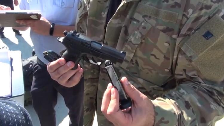 Предварительно, у налетчиков были травматические пистолеты. Фото: ГУ МВД по Краснодарскому краю.