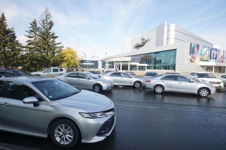 Toyota Camry входит в число самых угоняемых машин Екатеринбурга