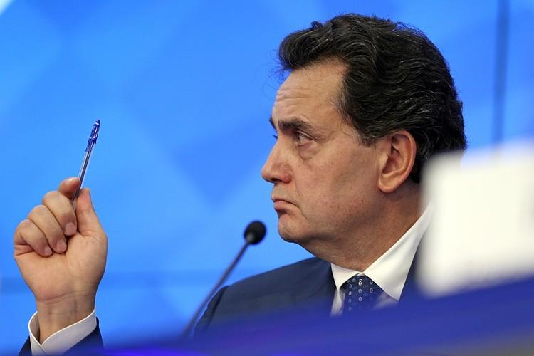 Руководитель НИИ Иван Стилиди. Фото: Михаил Александров/ТАСС