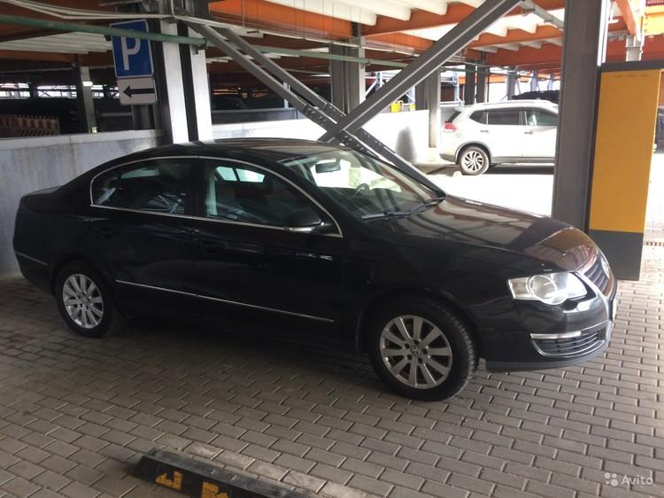 Дана Борисова в 2017 году опубликовала в Сети объявление о продаже Volkswagen Passat, представившись именем Линда. Фото: Avito.ru