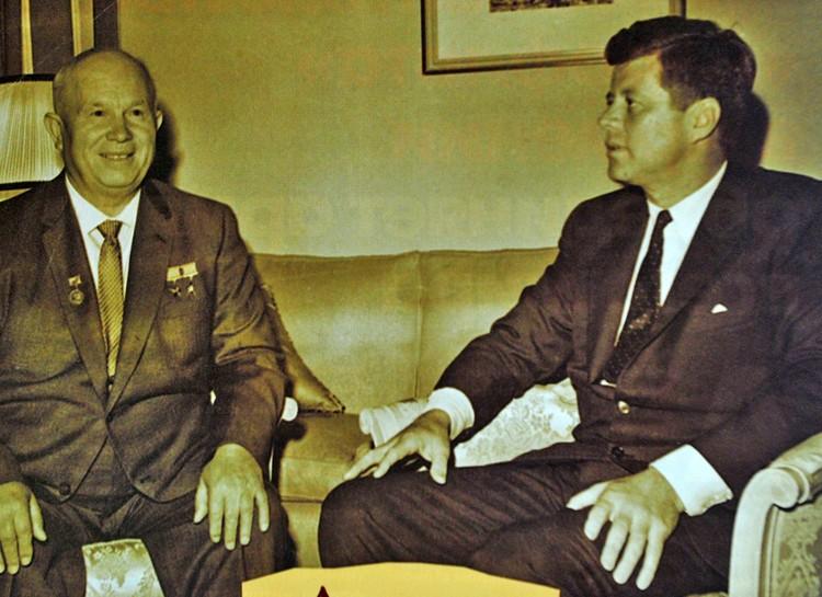 Два человека, от которых зависела судьба мира в 60-е годы прошлого века.