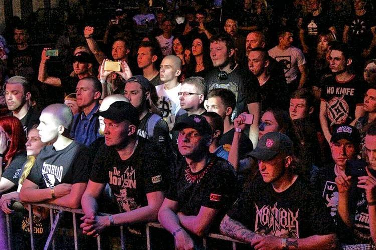 "Публика на концерте ""Сокиры Перуна"". Фото sokyraperuna.com"