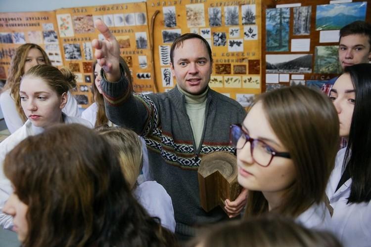 Студенты биофака учатся разумному отношению к природе. Фото: архив Андрея Сафонова