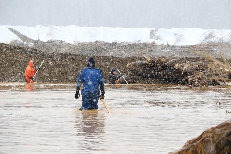 Поиски пропавших осложняет погода Фото: ГУ МЧС по КРасноярскому краю