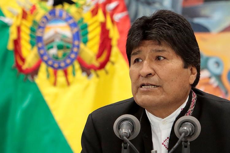 Эво Моралес руководит Боливией уже 13 лет.