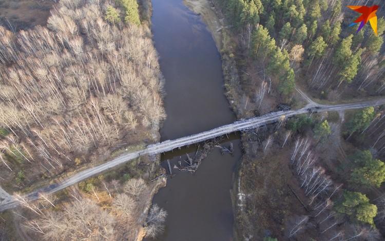 Старый мост через Пру.