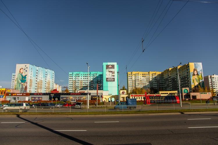 На среднем доме в ноябре тоже появится граффити Фото: предоставлено органгизаторами