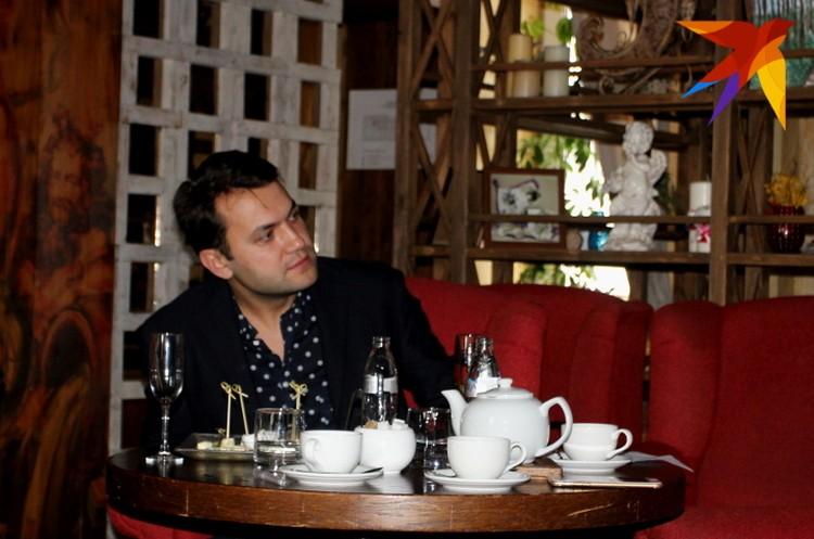 Встреча с актером прошла в уютной атмосфере