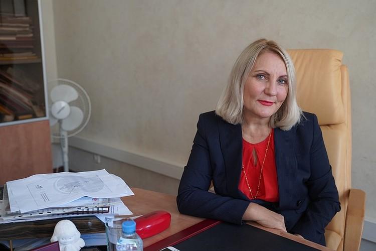 Елена Церетели, председатель Общественного совета по развитию малого предпринимательства при губернаторе Санкт-Петербурга