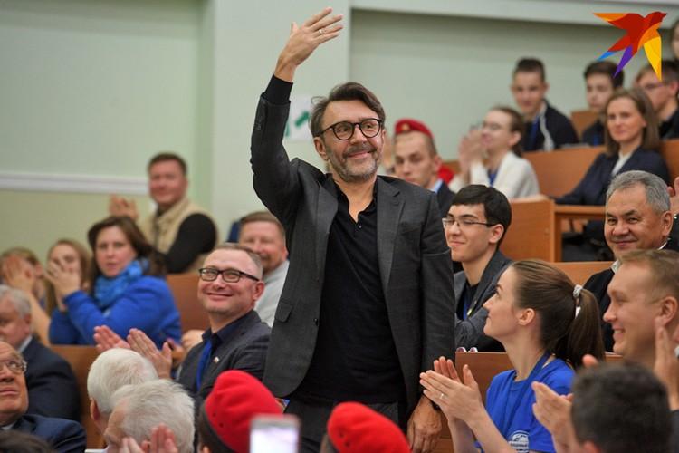 Появление Сергея Шнурова в аудитории МГУ стало неожиданным сюрпризом.