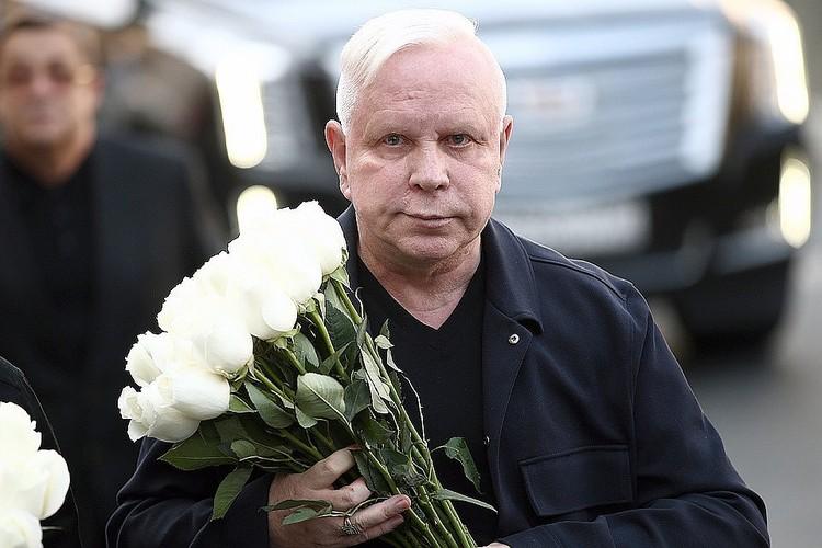 Сентябрь 2018 года. Борис Моисеев на церемонии прощания с Иосифом Кобзоном. ФОТО Валерий Шарифулин/ТАСС