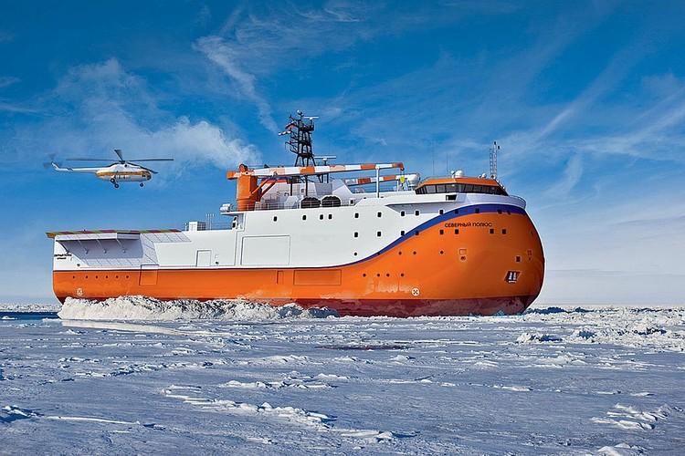 Российская ледостойкая платформа «Северный полюс».