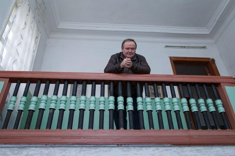 Николай Сайкин в Спасском-Куркино Фото: vk.com/kurkino_estate