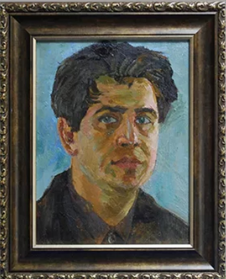 Автопортрет Георгия Александровича Даугеля-Дауге