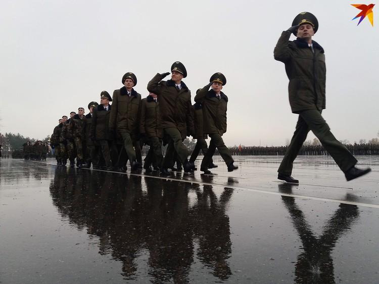 Бригаду считают элитой Вооруженных сил Беларуси.