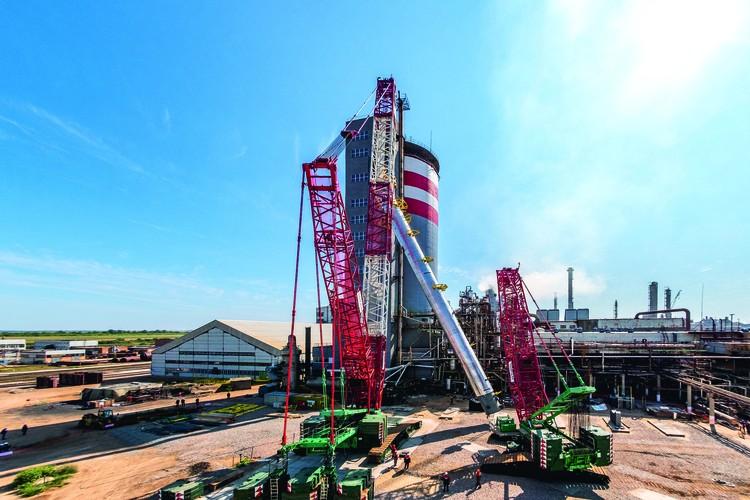 Тольяттиазот (ТОАЗ) - градообразующее предприятие Тольятти успешно развивает производство.