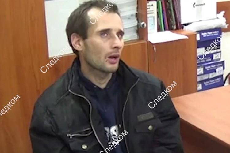 Михаил Туватин, убийца Лизы Киселевой из Саратова. Фото: СКР.