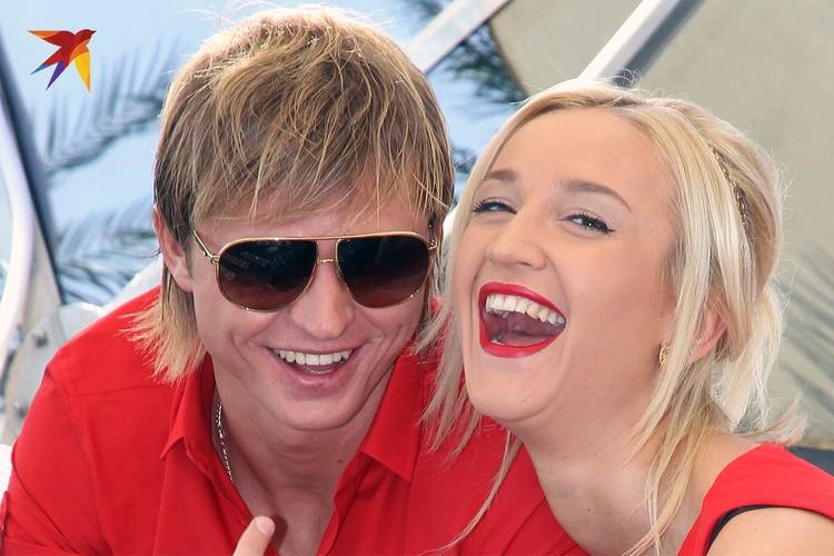 Дмитрий Тарасов и Ольга Бузова в 2012 году.