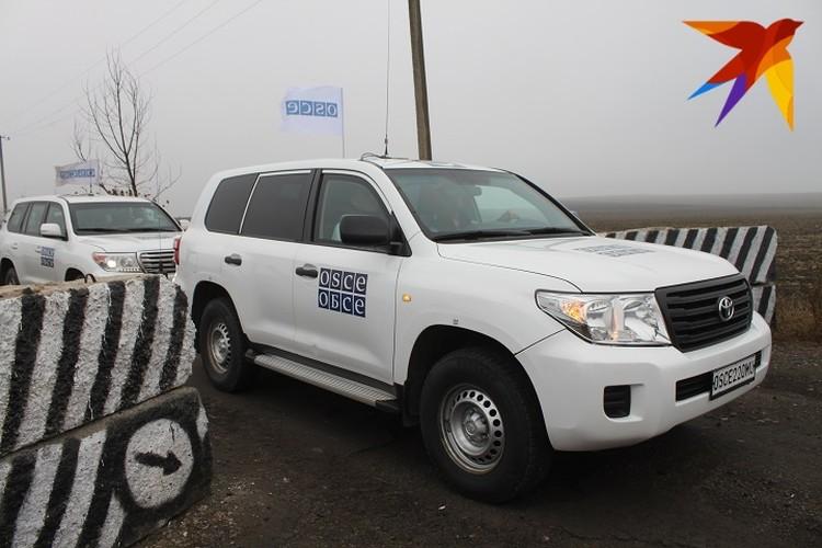 В Петровское прибыли представители миссии ОБСЕ