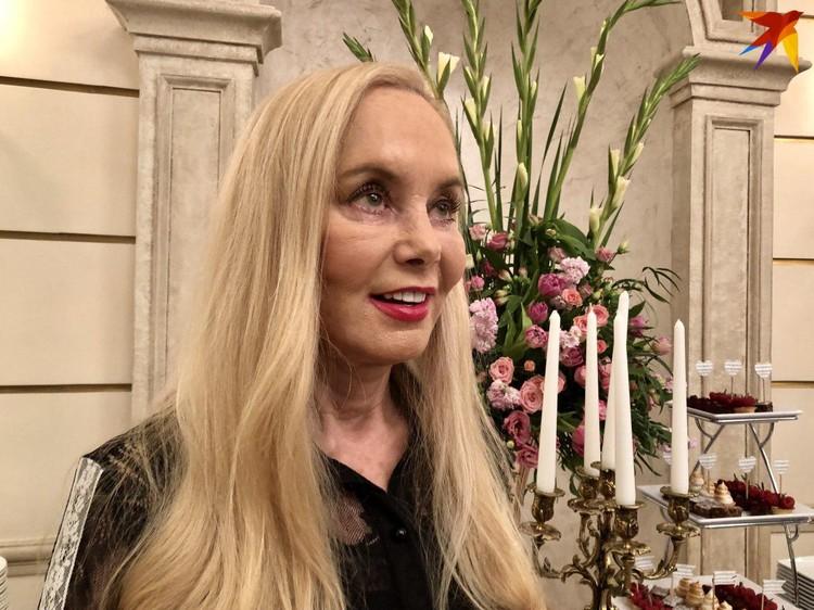 Неля Кобзон на юбилее Александры Пахмутовой