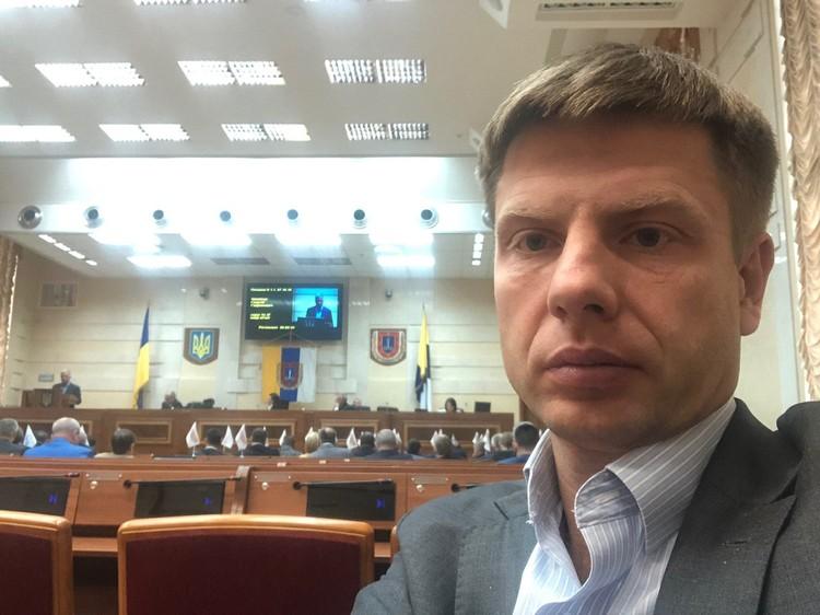 Депутат Верховной Рады Алексей Гончаренко.