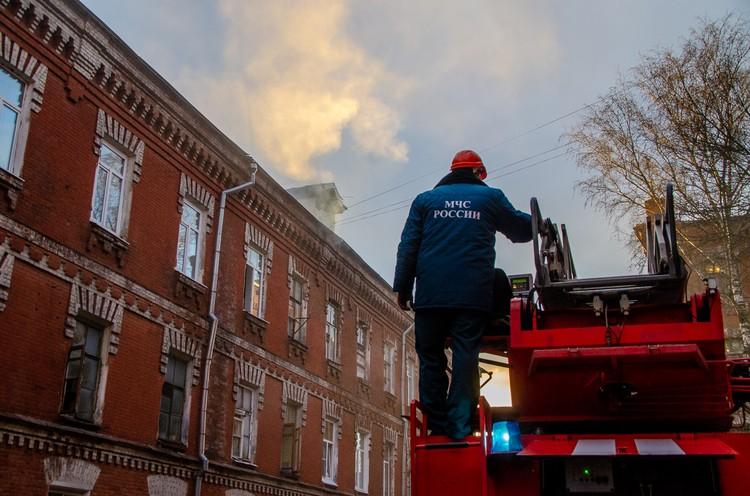 Пожар тушили около трех часов Фото: ГУ МЧС России по Тверской области