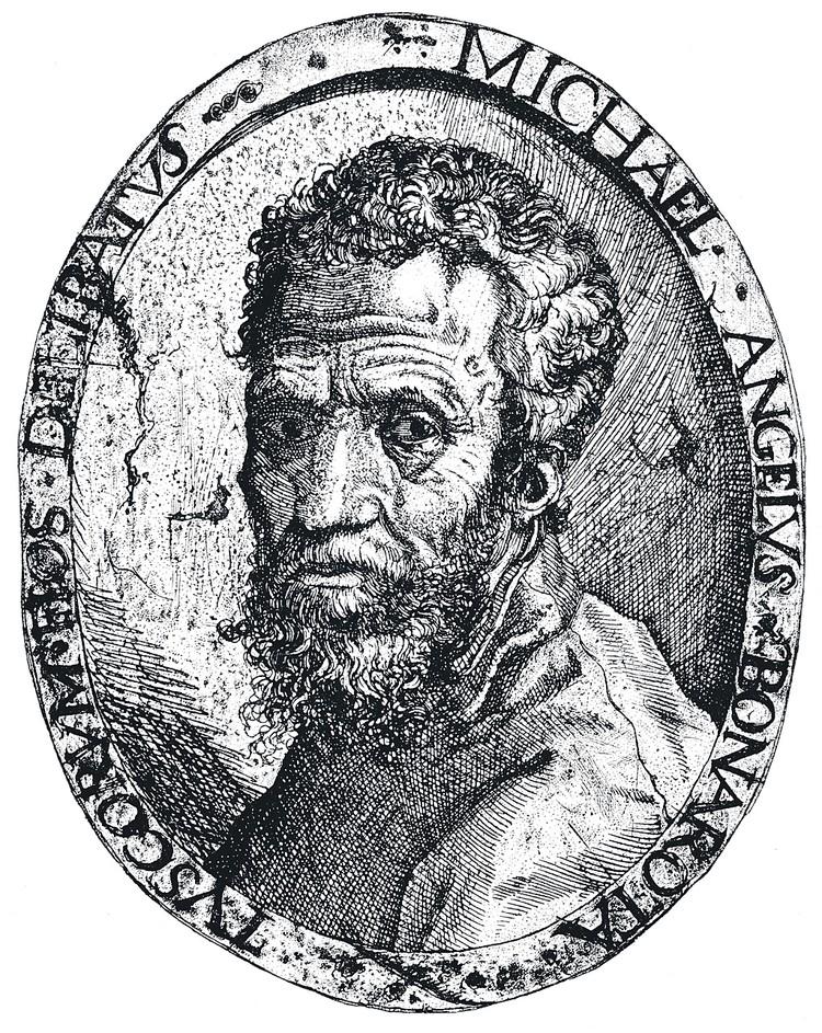 Микеланджело (гравюра).