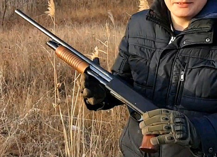Помповое ружье ИЖ-81.