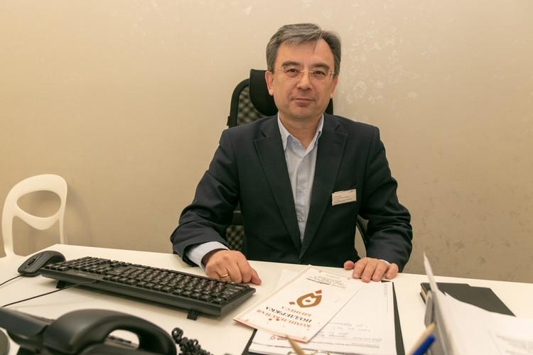 Руководитель клиентского офиса центра «Мой бизнес» в Уфе Рустам Зубаиров.