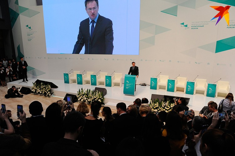 Владимир Мединский рассказал, что делает Министерство для популяризации культуры в стране.