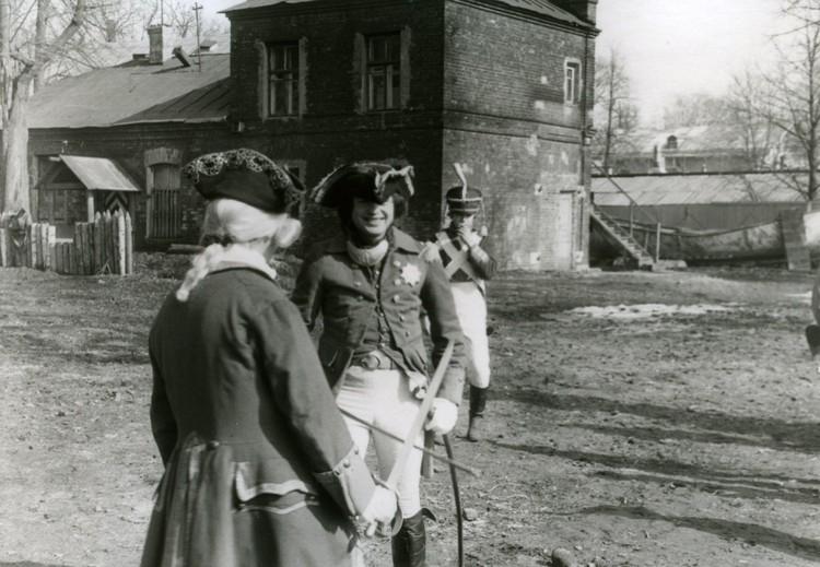Соколов уже тогда наряжался в треуголку Фото: Михаил Воробьев