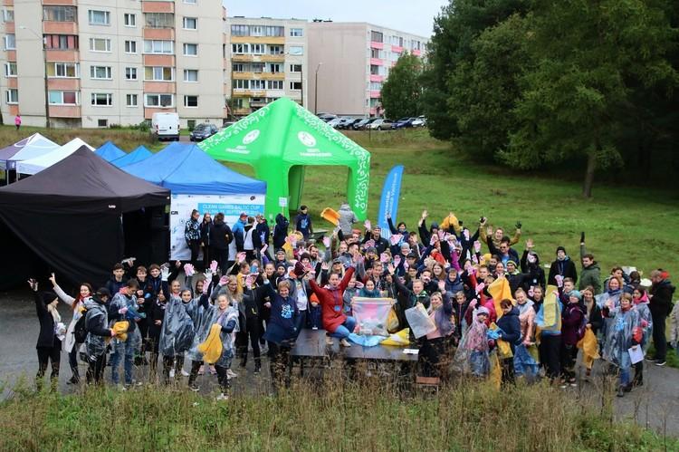 Участники первого международного турнира по Чистым Играм — Кубка Чистоты Балтийского моря Фото: vk.com/clean_games