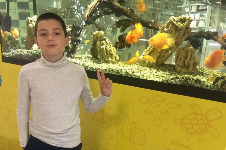10-летний Даниил теперь боится один выходить на улицу. Фото: семейный архив.