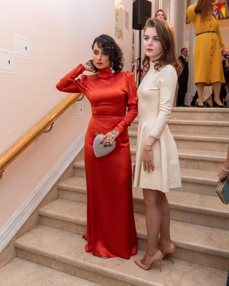 Тина Канделаки с дочерью Меланией.