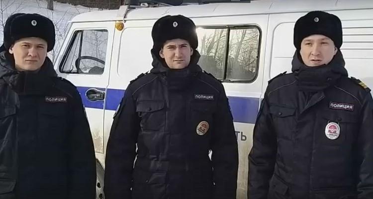 Сергей Егель, Василий Савченко и Максим Касаткин (слева направо) Фото: ГУ МВД России по Иркутской области.