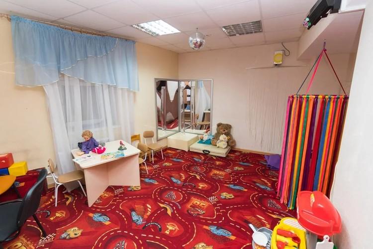 Сенсорная комната. Фото лаборатории