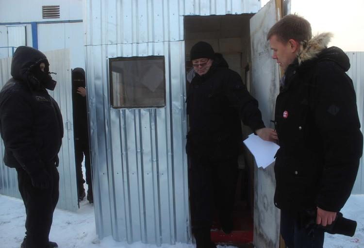 Депутата Евгения Ступина не пустили за забор