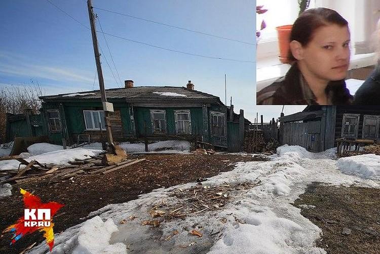 Дом, в котором Оксана жила с детьми