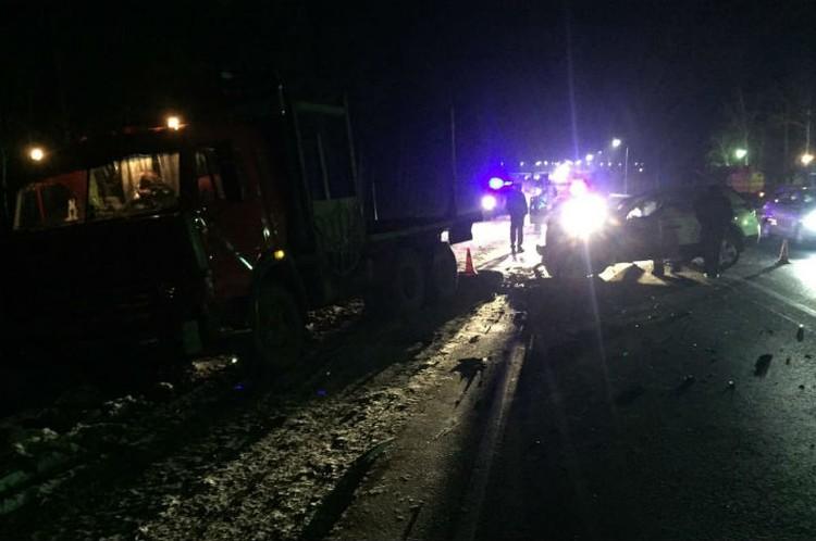 Авария, в которую попал мэр Тулуна.