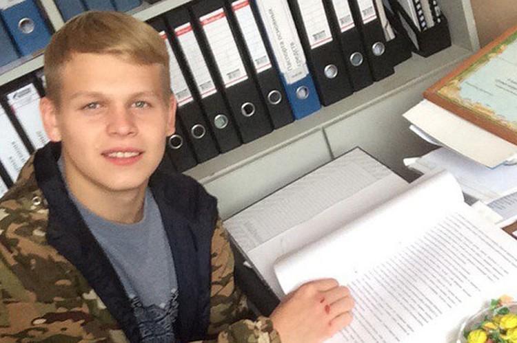 Дима вернуся из армии и сразу попал на скамью подсудимых